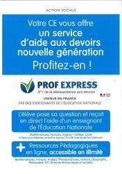 Affiche prof express