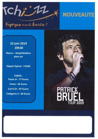 Concert patrick bruel tchizz