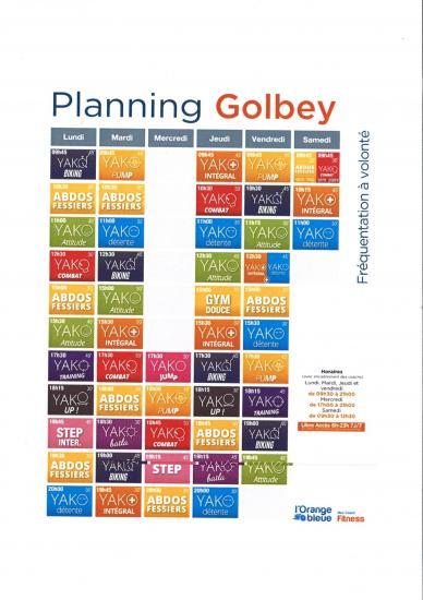 Planning septembre 2017
